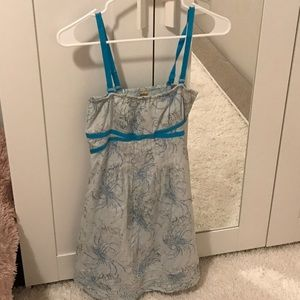 Free People dress with removable straps