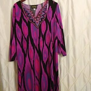 BOB MACKIE ( Gorgeous House Dress ) L / XL