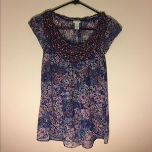 Anthropologie Odille brand blouse