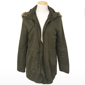 Foever 21 Women's Hooded Jacket