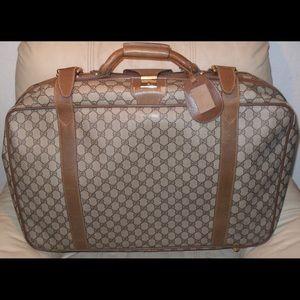 Authentic Gucci Suitcase Luggage Garment Traveler