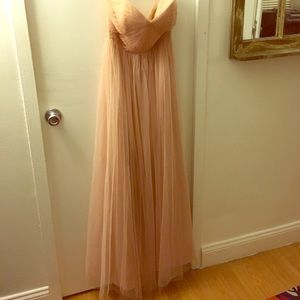 Jenny Yoo Annabelle size 6 dress in cameo pink