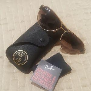 Ray-Ban RB3509 001/13 Aviator Sunglasses