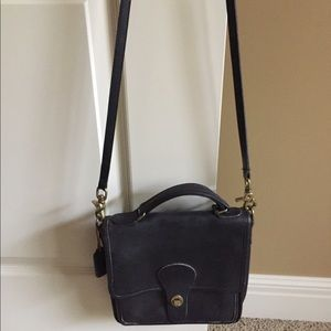 Vintage Coach Willis Station bag (Small )