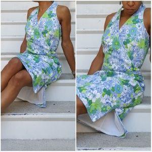 Talbot's VNeck Belted Sheath Dress