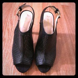 Black Nine West high heels
