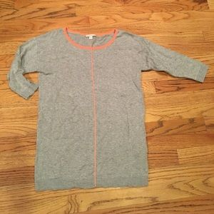 Gap maternity gray sweater