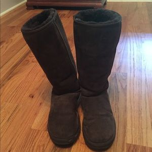 authentic brown uggs original classic talls