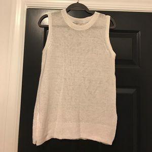 J. Crew sleeveless sweater