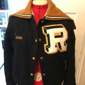 Vintage High School Letterman Jacket