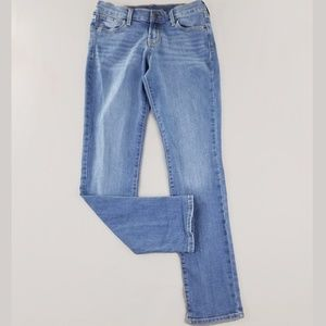 Old Navy Womens Jeans 2 Original Straight Mid Rise