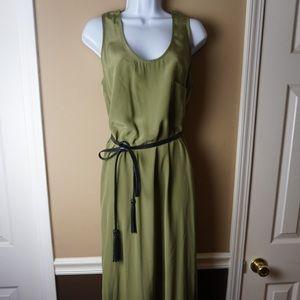 Mara Hoffman Green Maxi dress !  Size medium!