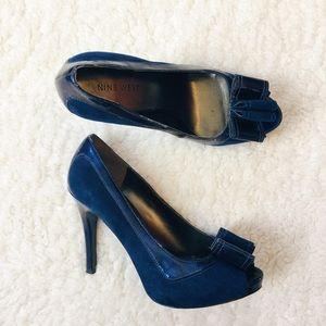 Nine West Bow Heels