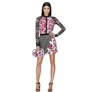 Peter Pilotto for Target geo floral skirt - sz 16