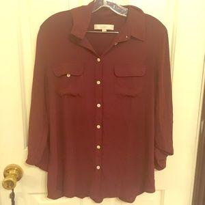 Loft utility blouse