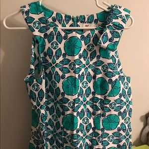 Vineyard Vines Shell Tile Dress