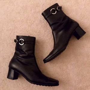 Coach✨Leather Ankle Boots