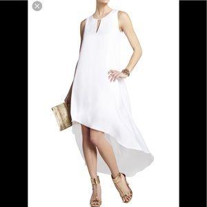 BCBGMaxazria Asymmetrical Hem Dress, S