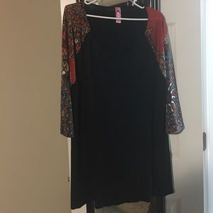 Beautiful blouse-3/4 sleeve-Worn one time!