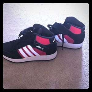Brand new never worn Adidas unisex high tops