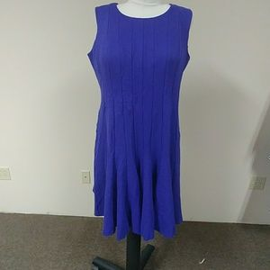 Land's End Pointe knit gored dress