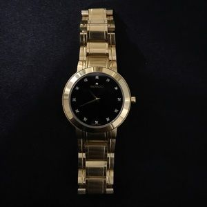 Movado Ladies Gold Tone Stainless Steel Watch