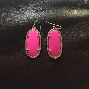 Elle pink earrings