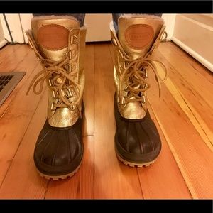 Coach duck boots