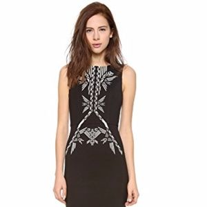 12th Street by Cynthia Vincent tribal sheath dress
