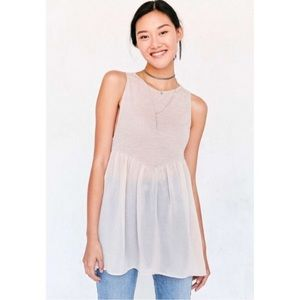 Urban Outfitters Skyler Babydoll Tunic