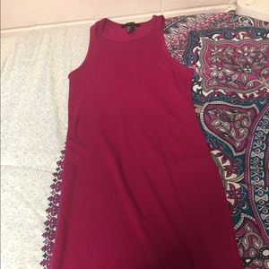 Forever 21 slim fit pink dress