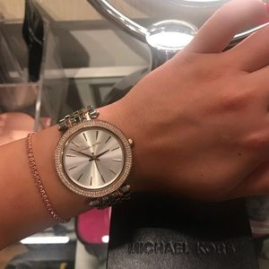 Michael Kors Two-Toned Watch. BRAND NEW WITH TAGS!