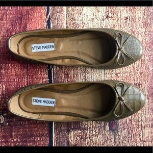 ⚜️ NWOT Steve Madden Leather Flats ⚜️