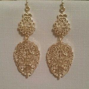 Antique Filigree Earrings