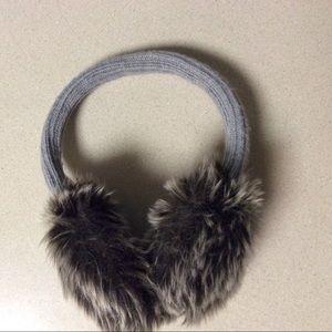 NWOT Anntaylor fur ear muffs