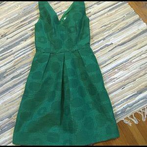 J CREW BEAUTIFUL GREEN DRESS!