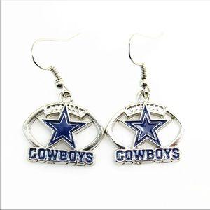 NWT cowboys earrings