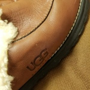 Ugg leather lined mule