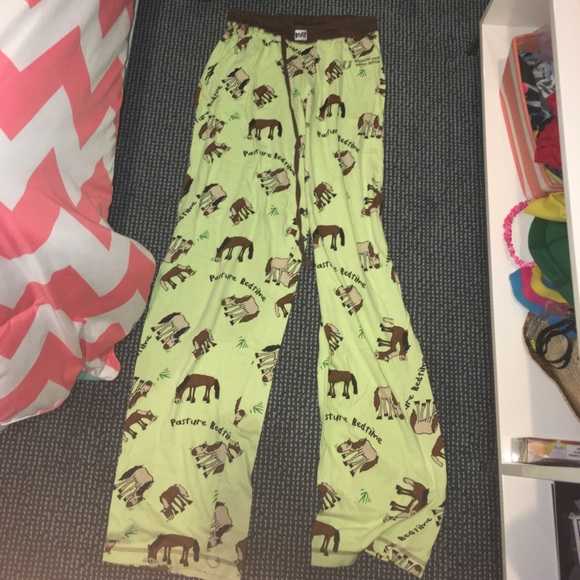 Cute pajama pants w horses on them. M 59eea097f739bcd5e00042d5 ccf2a400b81b
