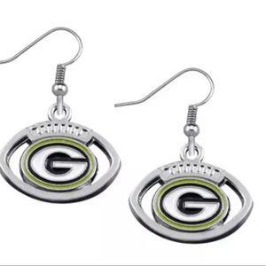 NWT Green Bay earrings