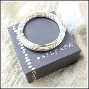 SILPADA 21 Salute Sterling Silver Bracelet