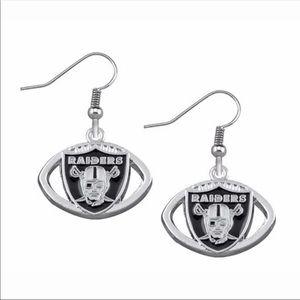 NWT Raiders earrings