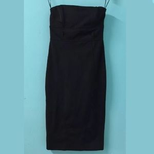 Dress Small Form Fitting Little Black Dress ZARA