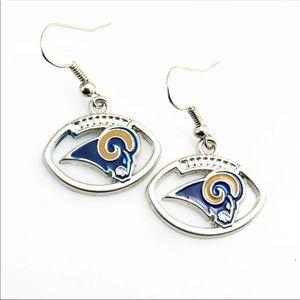 NWT Rams earrings