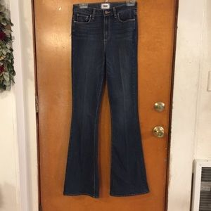 Paige Jeans. High Rise  Bell Canyon