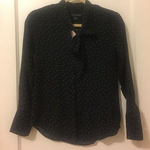 Banana Republic XXSP Tie-Neck Blouse NEVER WORN