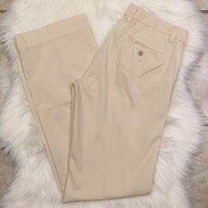 Cream 100% cotton Gap pants, size 4L