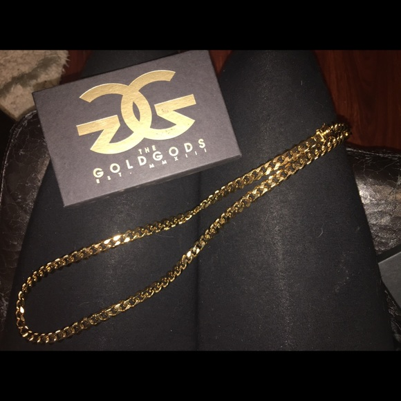 The Gold Gods Jewelry 18k Gold Plated Chain Poshmark