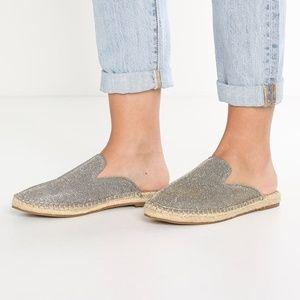 Steve Madden JoeJoe Glitter Mule, Size 5.5