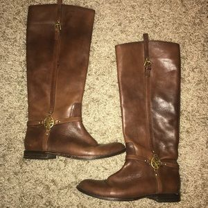Coach Chestnut Riding Boots